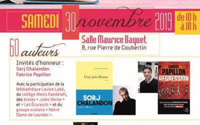 30 novembre 2019 – Salon du Livre de Chazay (LYON)
