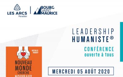 5 août 2020 – Conférence « Leadership Humaniste® » face au Mont-Blanc
